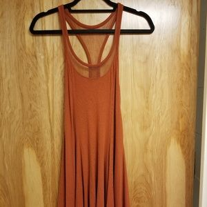 Silence + Noise Women's Copper Dress with Mesh